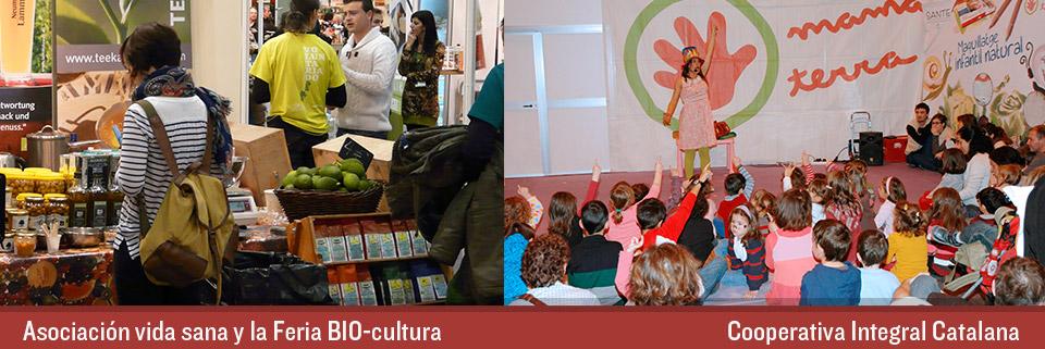 Dulce Revolución - Cooperativa Integral Catalana - Asociació Vida sana y la Feria BIO-cultura