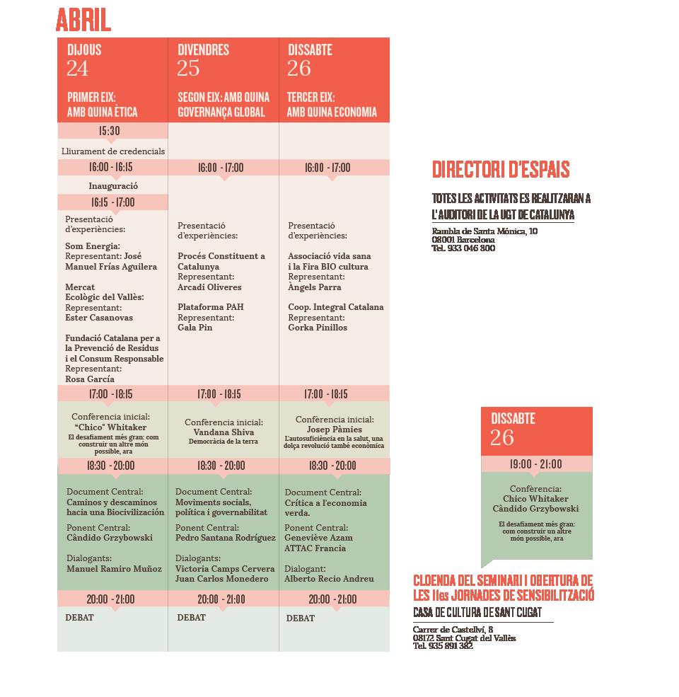 Programació Seminari catalá