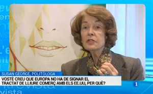 Captura de Susan George en TVE