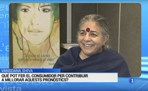 Captura de Vandana en TVE